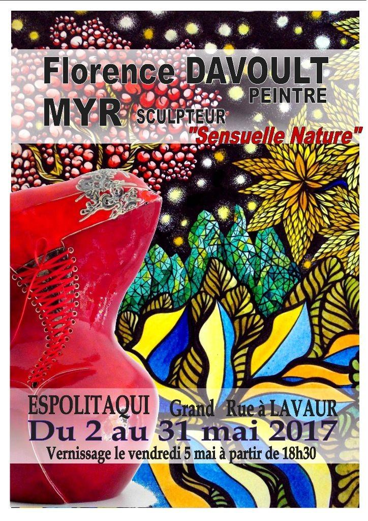 Affiche Myr & F Davoult